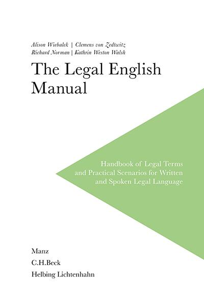 Perfectionnez votre anglais juridique avec The Legal English Manual